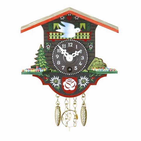 Trenkle Small Miniature Black Forest Clock TU 20 P nu Home ...