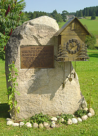 Memorial of Franz Ketterer Schoenwald