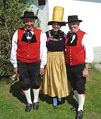Traditional costume of Schoenwald